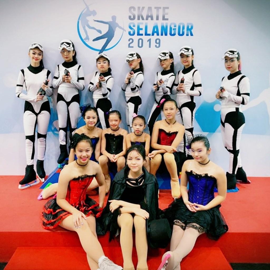 Skater BX Rink Bintaro Jaya Xchange Ice Skating Rink BXc di Skate Selangor 2019 MYNISS