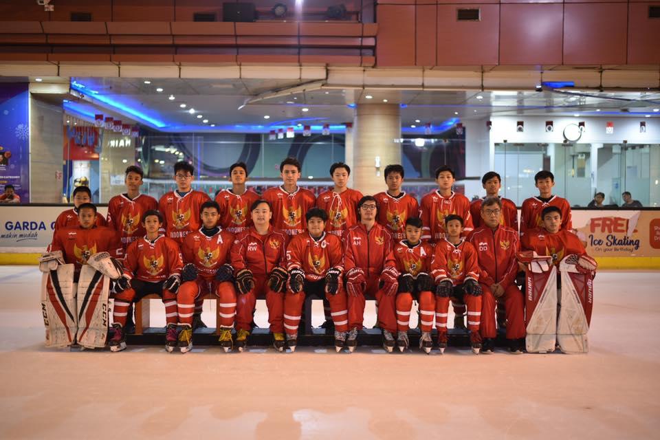 Tim Hoki Es Indonesia U15 Boys Southeast Asia Youth Cup 2019