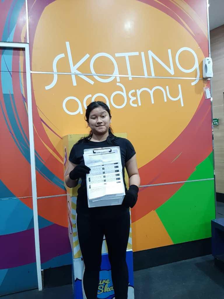 Deandra Armeilma Skaters BX Rink (Freestyle 1)
