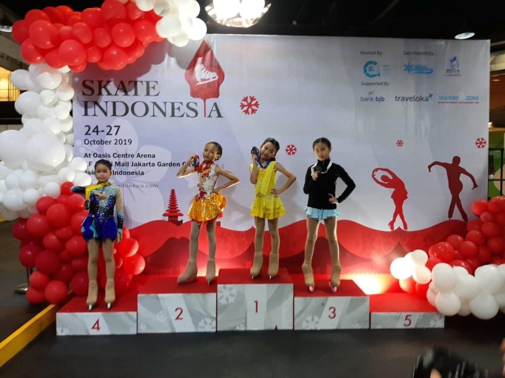 BX Rink Figure Skating Team - Skate Indonesia 2019 Oasis Centre Arena - Bianca Cetta Prawara - 3