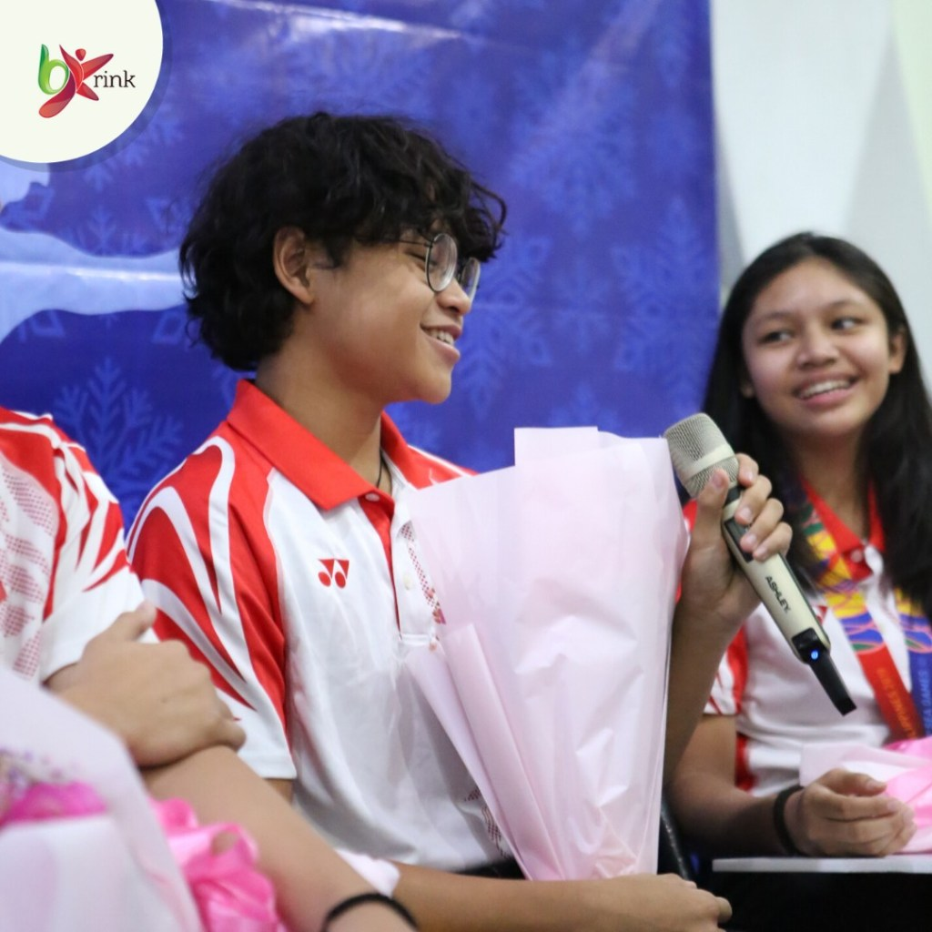 BX Rink Meet and Greet with Indonesian Figure Skating Athlete SEA Games 2019