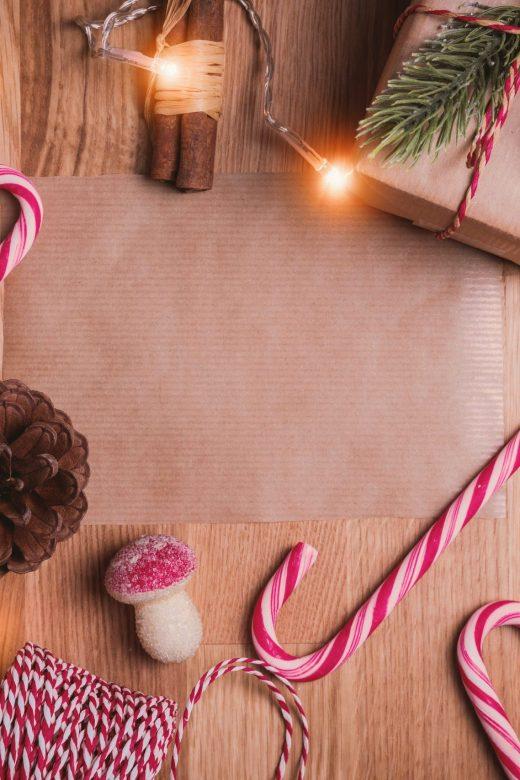 Decorative image of Christmas items