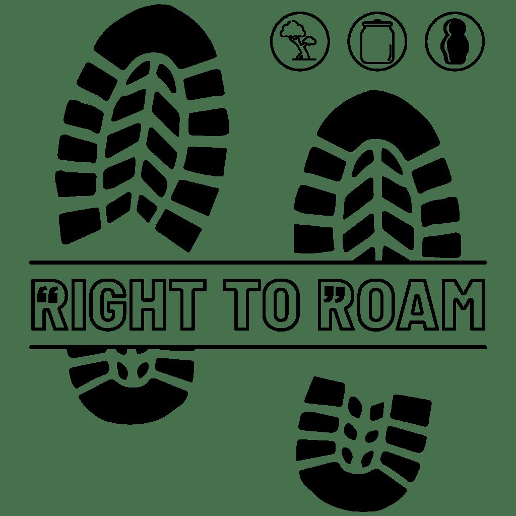 Right to roam logo