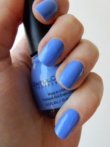 Sinful Colors 1433 Blue La La