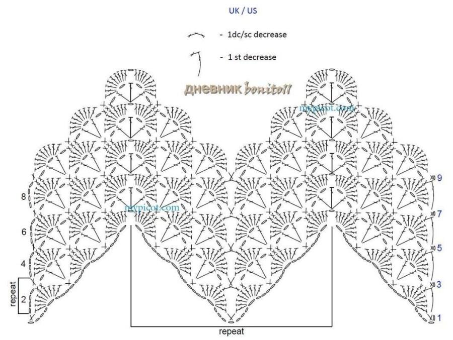 stitch of the week  10  ripple shell stitch