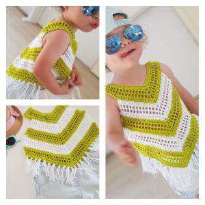 little girl summer top