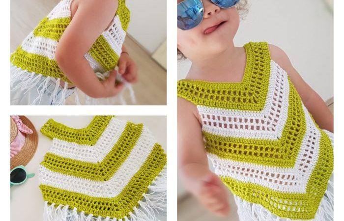 Little Girl Summer Top Crochet Pattern Bykaterina