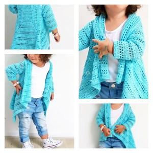 Blue Sky Cardi crochet pattern