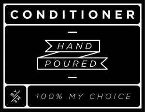 Mini Black Conditioner Decal