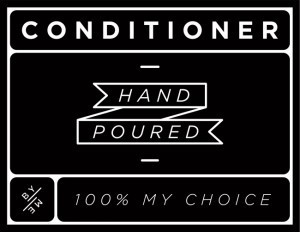 Mini Black Conditioner Decal
