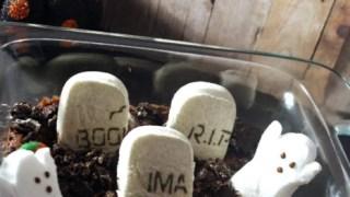 Edible Halloween Cemetery