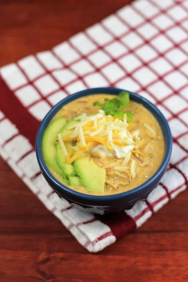 Instant Pot Chicken Chili No Beans