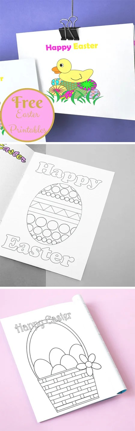 All the pretty colors you can mix and match to make that dyed Easter egg become one of a kind. I have a few free Easter printables for you all.