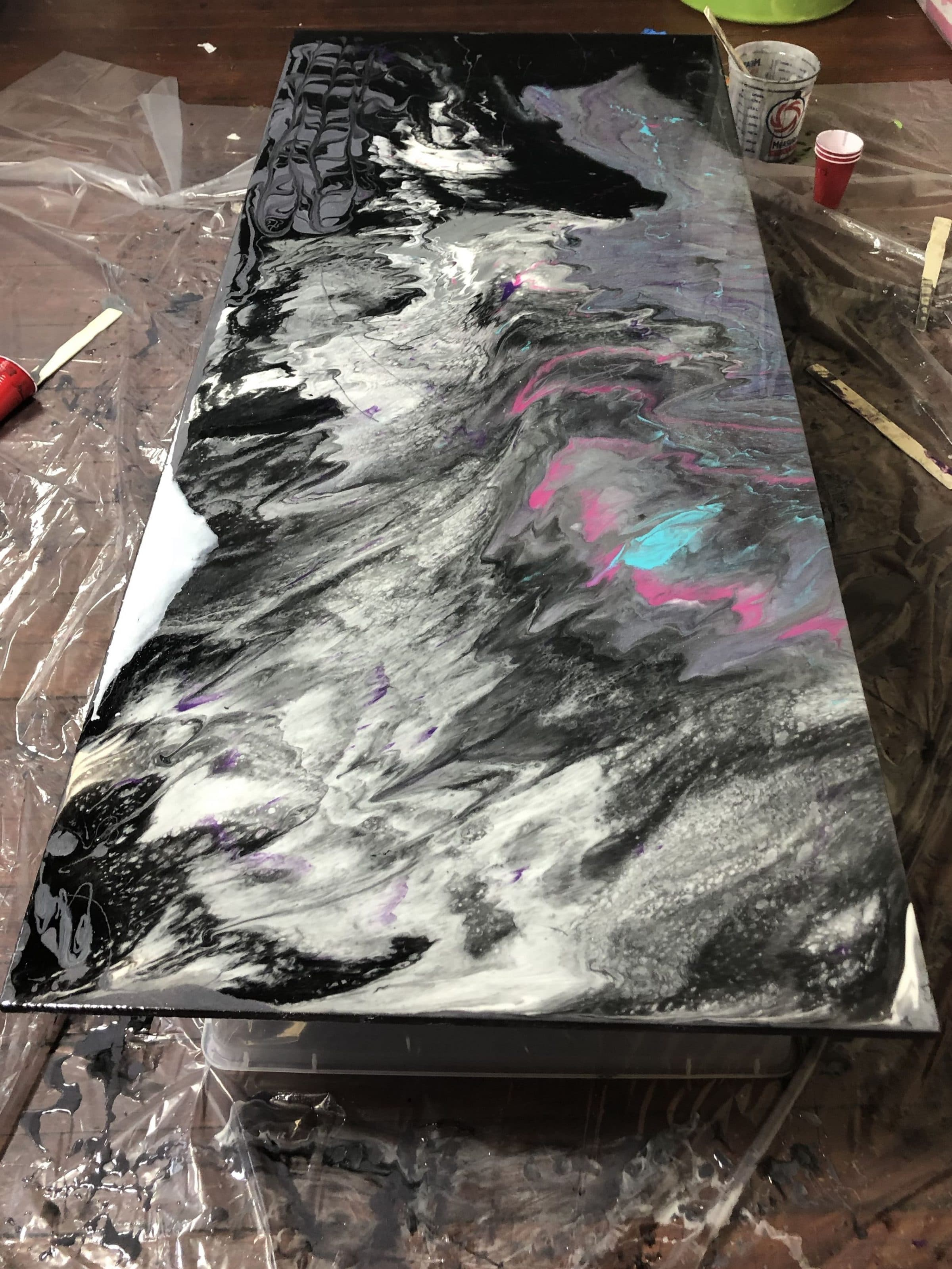 DIY Epoxy Countertops ⋆ by Pink