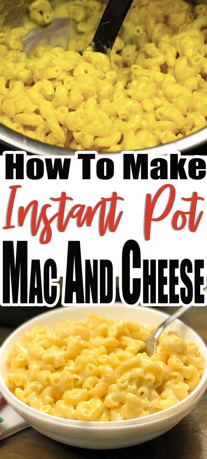 This instant pot mac and cheese recipe is one of the best you will find, it is an easy recipe for your pressure cooker. WIth as little as 4 ingredients this macaroni and cheese, this creamy recipe will be a staple dish in your home. #easy #instantpot #recipe