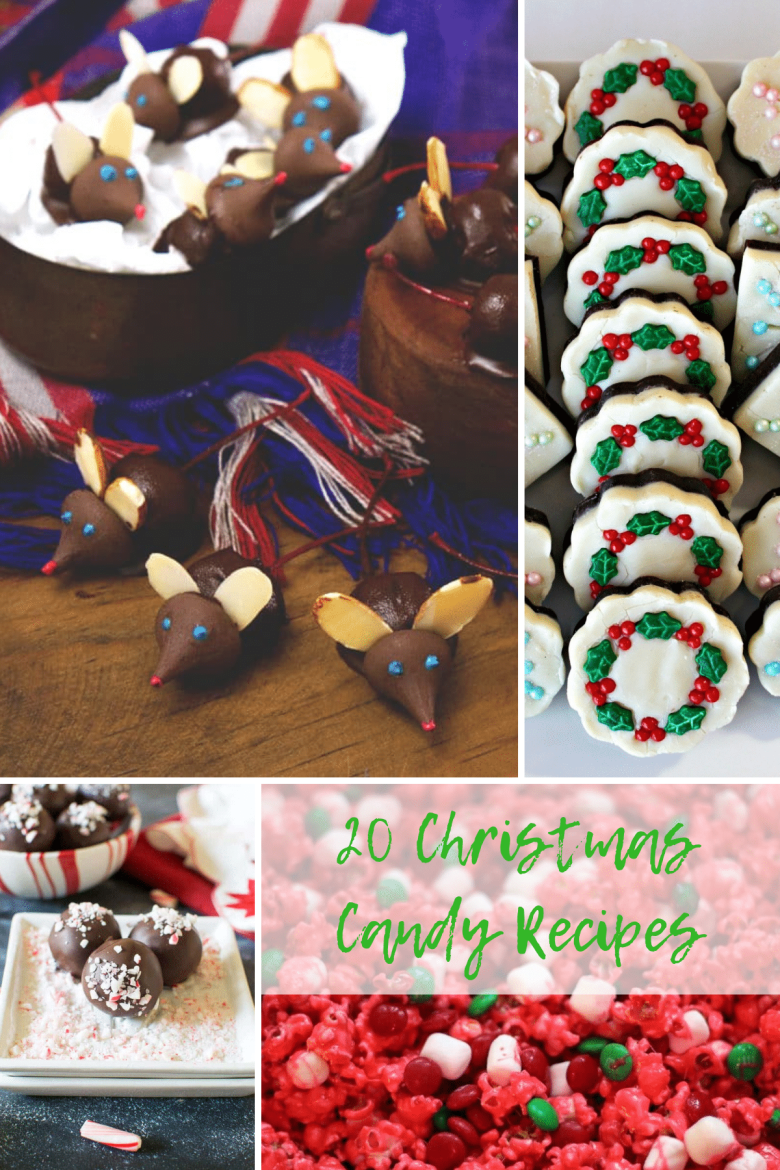 know I love a tasty Christmas candy, and I wanted to share a handful of my favorite Christmas candy recipes with you guys