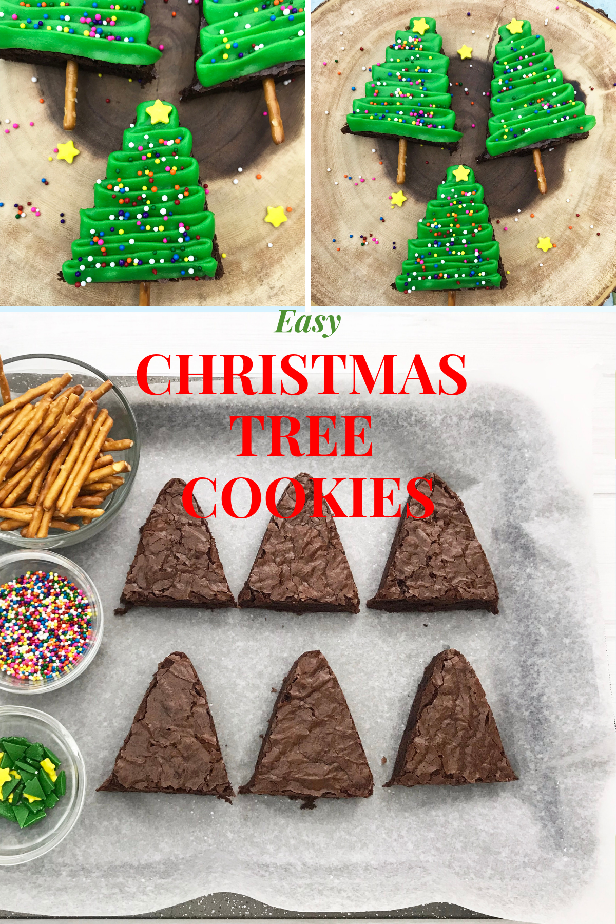 What is better than homemade brownies? Christmas Tree brownies of course! Christmas is coming up fast, and if you are looking for that perfect holiday treat, these Christmas Trees brownies are it!