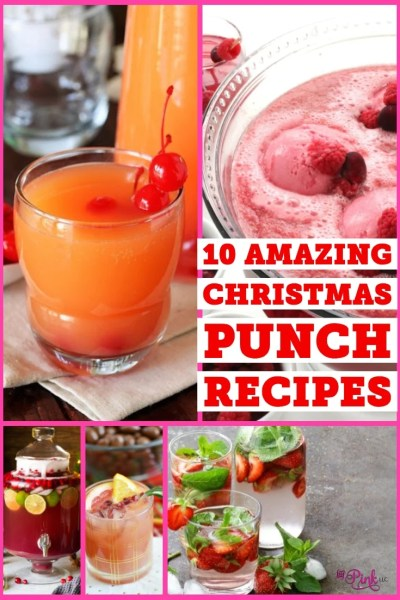 Looking for that perfect drink to serve up this Christmas? I have gathered some delicious and refreshing Christmas punch recipes below!
