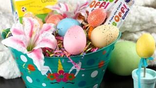 DIY Easter Basket with Free SVG file