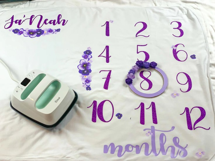 A Baby Milestone Blanket