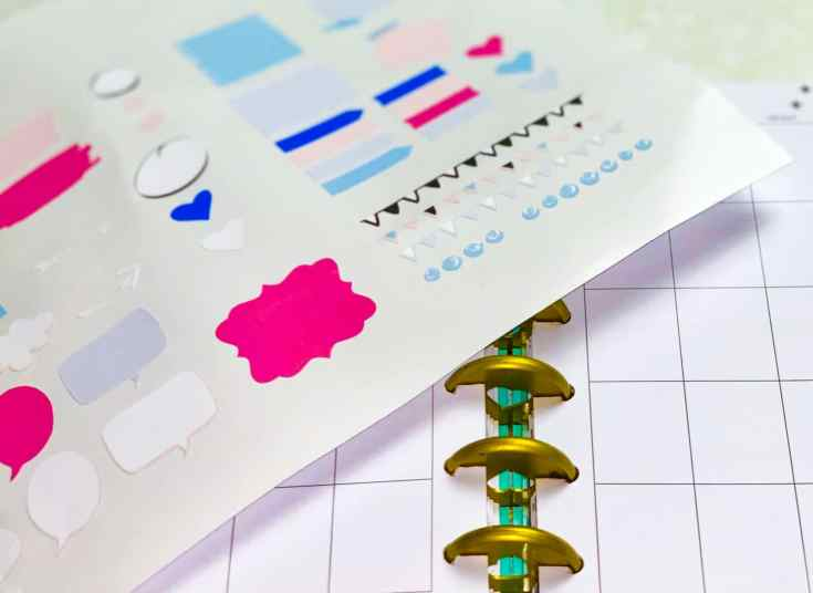 Free Planner Stickers Using Cricut Print Then Cut With Cricut