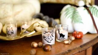 DIY Halloween Votives Tutorial