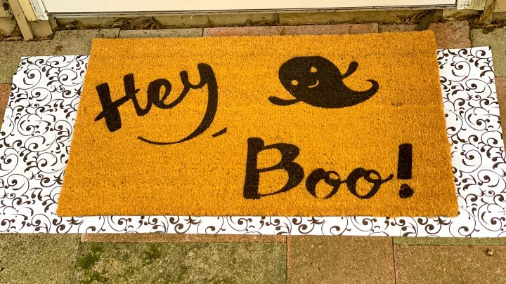 How To Make A Halloween Doormat