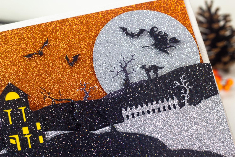 Halloween Scene With Free SVG