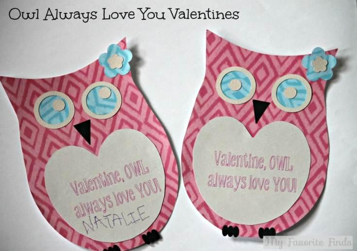 Owl Always Love You Valentines