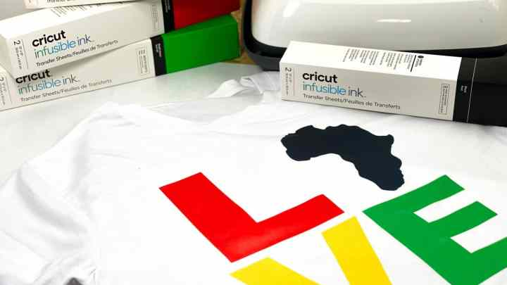 How To Make A Cricut Infusible Ink Black History Month Shirt
