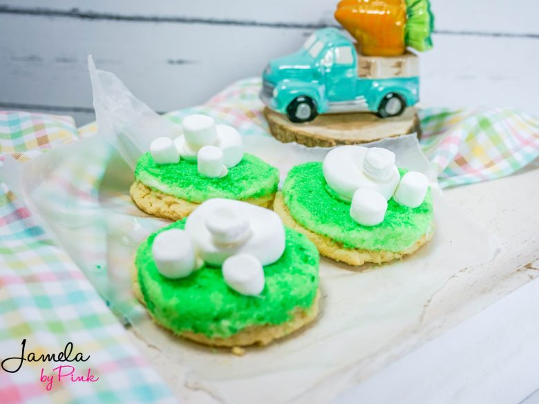 Bunny butt easter cookies are easy, and the most adorable cookies you will have this Easter! This is a great way to use cake mix for tasty cookies!