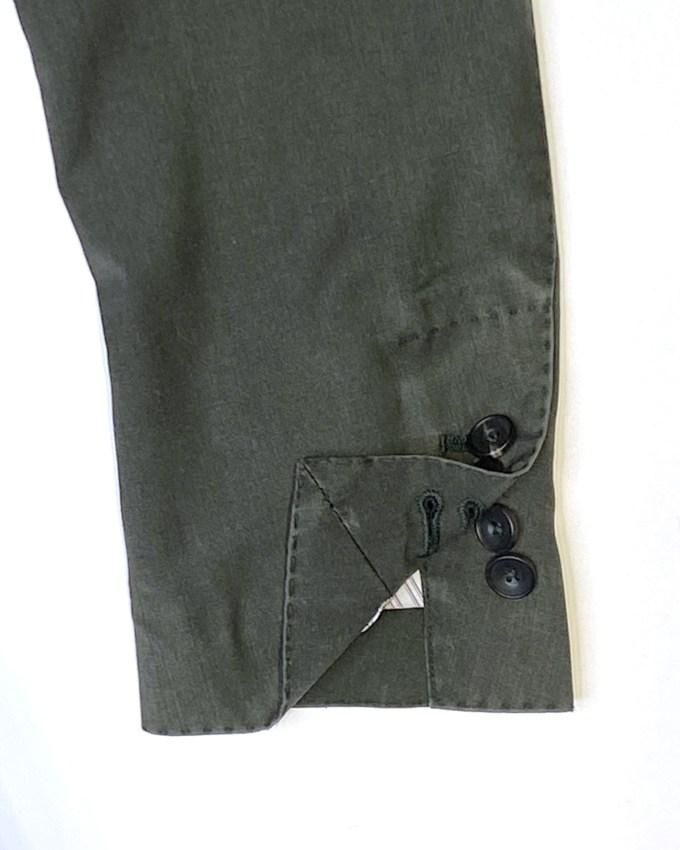 boutonnieres-manches-veste-verte-lavee