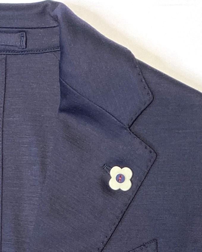 col-veste-jersey-bleu-marine-lardini