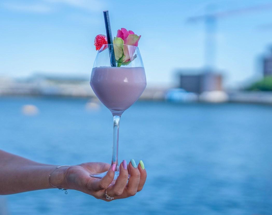 pink creme cocktail