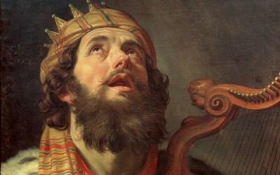 Lank lewe koning Dawid!