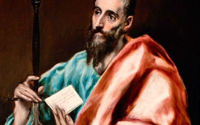 Paulus neem afskeid vanTimoteus
