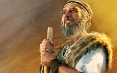Elia daag 450 Baälprofete uit