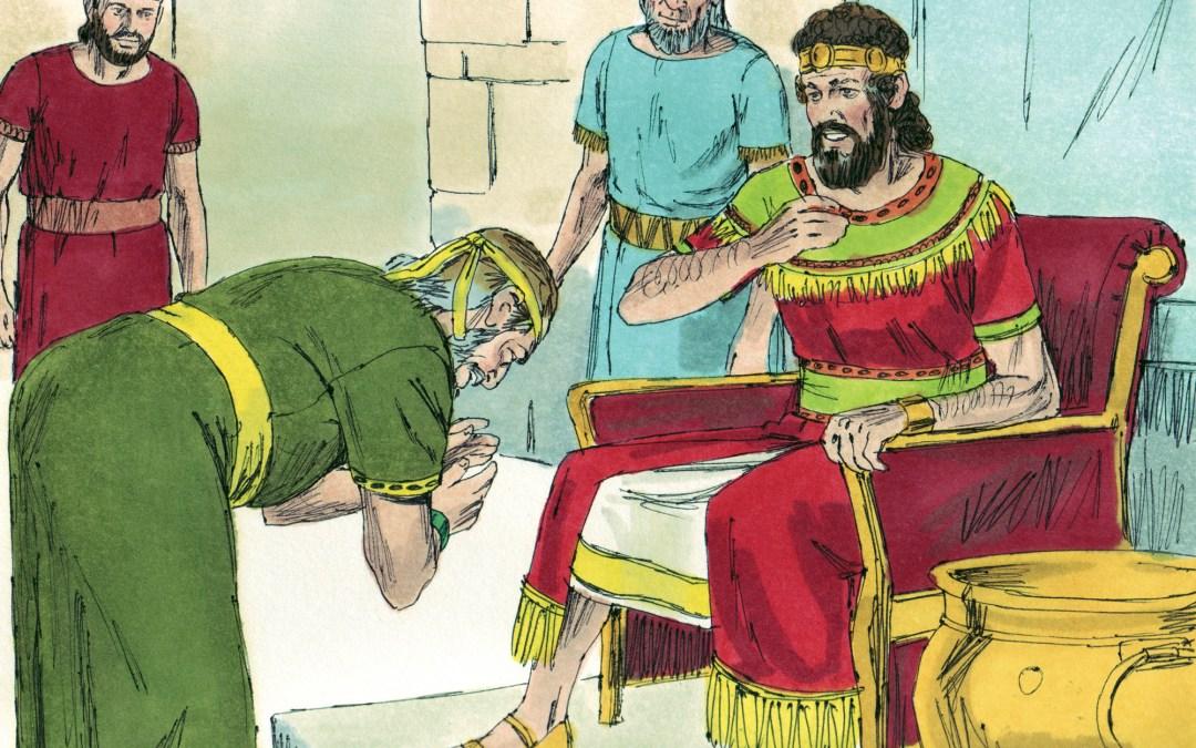 Dawid word koning oor die hele Israel