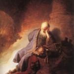 Jeremiah lamenting - Rembrand van Rijn