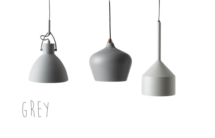 Lamp mix grey from ILVA