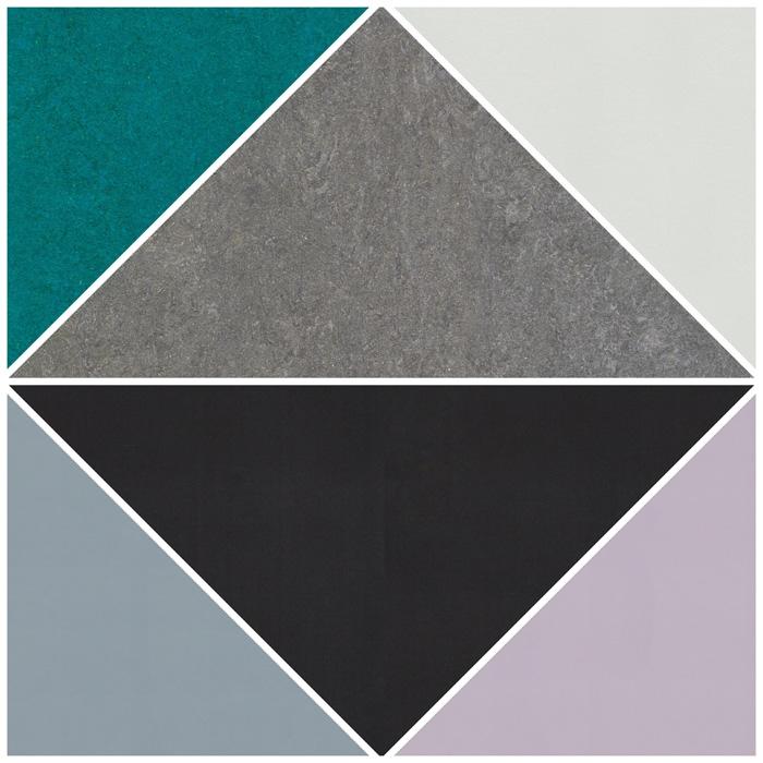 Linoleum colors