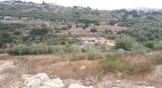 Land for Sale Ain Kfaa Jbeil Area 1705Sqm