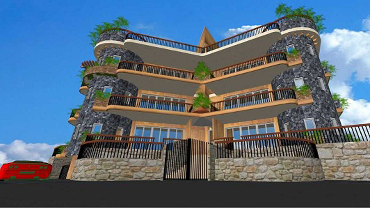 Apartment for Sale Adma Kesserwan Penthouse Area L1 235Sqm and 184 Terraces L2 168Sqm and 50 Terraces