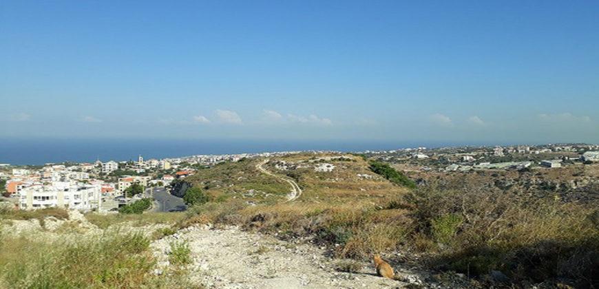 Land for sale Hboub Jbeil Area 790Sqm