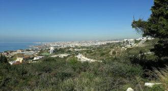 Land for Sale Fidar ( Halat ) Jbeil Area 723Sqm