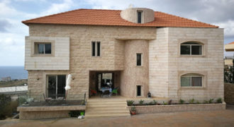 Villa for Sale Berbara Jbeil The construction Area is 694Sqm Land Area 870Sqm