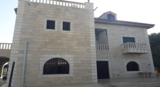 Villa for Sale Wajh El Hajar Batroun ; Construction is about 529 Sqm
