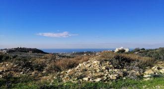 Land for Sale Gharzouz Jbeil Area 2145Sqm