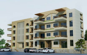 Apartment For Sale Aamchit Jbeil SS floor Area 130Sqm and Garden 15Sqm