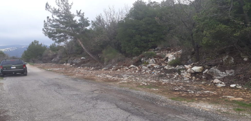 Land for Sale Hardine- Beit Kassab Batroun Area 1757Sqm